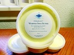 1 LB of Yellow Whipped Shea Butter  (4 - 4 oz containers)